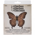 Bigz Die w/Embossing Folder - Layered Butterfly
