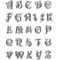 Clear Stamps - Alphabet groß