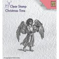 Clear Stamps - Angel with Lantern