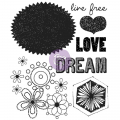 Clear Stamps - Free Spirit 2 - Love, Dream