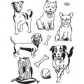 Clear Stamps - Hunde