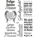 Clear Stamps - Spr�che 2