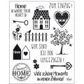 Clear Stamps - Sweet Home