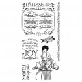 Cling Stamps - Cafe Parisian 2