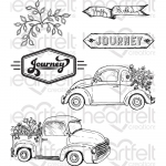 Cling Stamps - Simply Classic