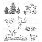 Cling Stamps - Woodsy Critters