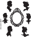 Cling Stamps Tim Holtz - Artful Silhouettes