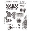 Cling Stamps Tim Holtz - Bitty grunge
