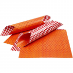 Designpapier London - orange