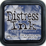Distress Ink Kissen - Chipped Sapphire
