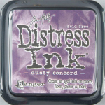 Distress Ink Kissen - Dusty Concord