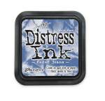 Distress Ink Kissen - Faded Jeans