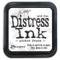 Distress Ink Kissen - Picket Fence