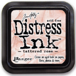 Distress Ink Kissen - Tattered Rose