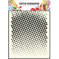 Dutch Mask Art Schablone - Faded Dots