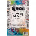 Dyan Reaveleys Dylusions Coloring Sheets