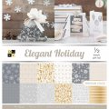 Elegant Holiday 12x12 Paper Stack