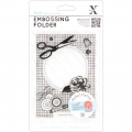 Embossing Folder - Haberdashery