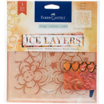 Ice Layers Adhesive Textures - Floral