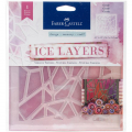 Ice Layers Adhesive Textures - Geode