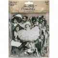 Idea-Ology Paper Dolls Die-Cuts - Vintage Black  White