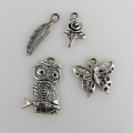 Metal Charms - Natur