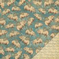 Olde Curiosity Shoppe - Designpapier when pigs fly