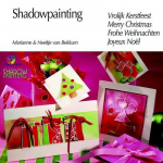 Shadowpainting Frohe Weihnachten NL-D-GB-F