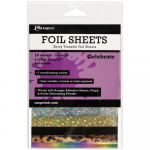 Shiny Transfer Foil Sheets - Celebrate