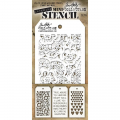 Tim Holtz Mini Layered Stencil Set 6