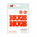 Tonic Studios mandala moments - hugs stamp and die set