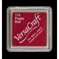 VersaCraft Mini Stempelkissen - Poppy Red