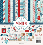A Perfect Winter 12x12 Paper Pack
