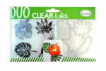 Aladine Clear Stamps and Dies - Tropical