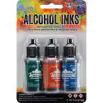 Alcohol Ink Kit - Rustic Lodge