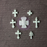 Archival Cast Embellishments - Crosse Icons