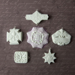 Archival Cast Embellishments - Medallions