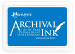 Archival Ink Stempelkissen - manganese blue