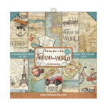 Around the World 8x8 Paper Pack