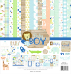 Baby Boy 12x12 Collection Kit