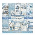 Blue Land 12x12 Paper Pack