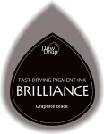 Brilliance Dew Drop Stempelkissen - Graphite Black