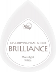 Brilliance Dew Drop Stempelkissen - Moonlight White