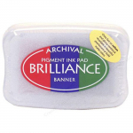 Brilliance Pigment Ink Pad - 3-color banner