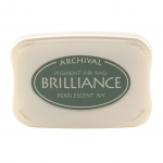 Brilliance Pigment Ink Pad - pearl ivy