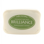 Brilliance Pigment Ink Pad - pearl thyme