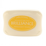Brilliance Pigment Ink Pad - pearl yellow
