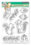 Clear Stamps - Acorn and Animals