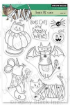 Clear Stamps - Bats and Cats