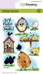 Clear Stamps - Chicken 1